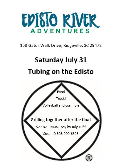 Tubing on the Edisto @ Edisto River Adventures